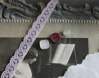 Braid lace elastic Parma / around 1960