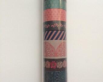 Floral Pattern Washi Set
