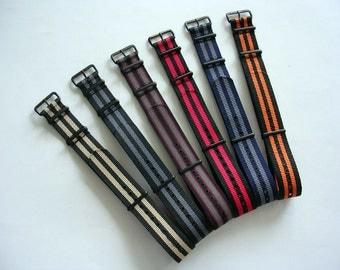NATO G10 ® Ballistic Nylon PVD Watchband Military watchband watchstrap