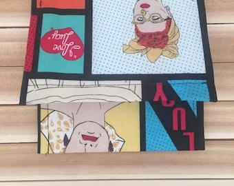 I Love Lucy Paper Purse