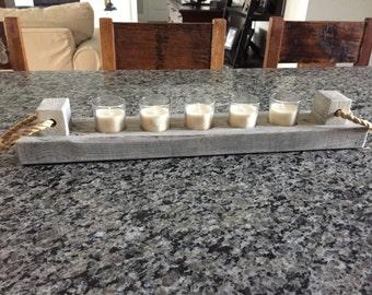 Candle Holder - Nautical Decor, Ocean Decor, Candles