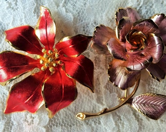 2 Vintage Cerrito Brooches/Pins