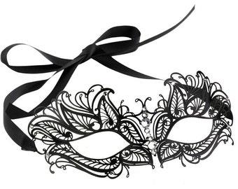 Gorgeous Laser Cut Filigree Venetian Mask For Women
