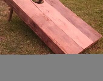 Barn wood Corn hole set