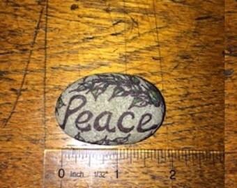 "Gratitude Stone ""Peace"""