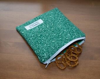 Green Vine Reusable Sandwich Bag