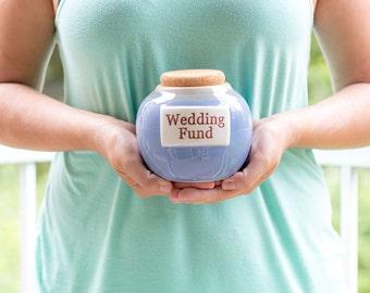 Ceramic Wedding Fund Jar
