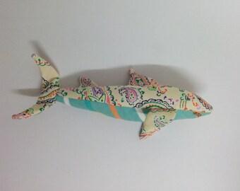Cream Paisley Sharkie