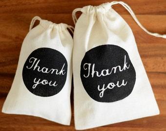 100 Medium wedding favour bags, Thank You wedding bomboniere bags, wedding thank you bags, muslin favor bags, wedding gift bags