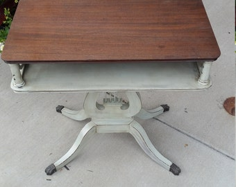 Vintage Mahonany Accent Table