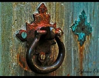 Rustic door knobs