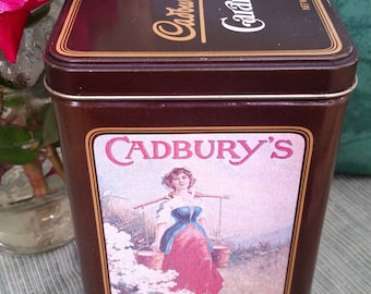 Vintage Tin Cadbury Candy