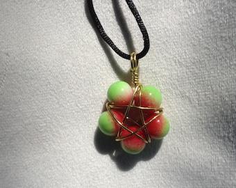 Apple Flower Star Pendant