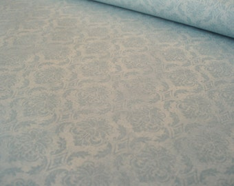 Cotton fabric Gorjuss - On the Top of the World - damask blue