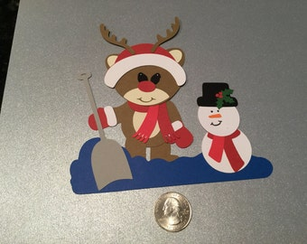 A75 - Reindeer and Snowman