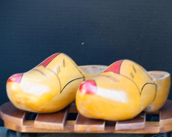 Wooden Holland Dutch Clogs Shoes