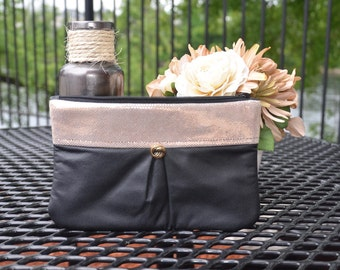 Leather Clutch, Genuine Leather Purse, Nitabag