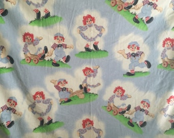 Raggedy Ann and Andy Fleece Blanket