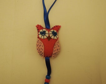 Owl hanging charm