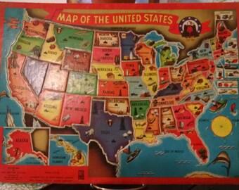 United States Frame Tray Puzzle