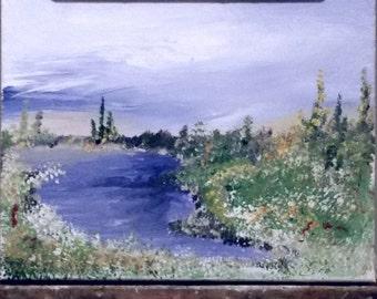 "Original Painting ""calm"" by Tweet Home Alabama"