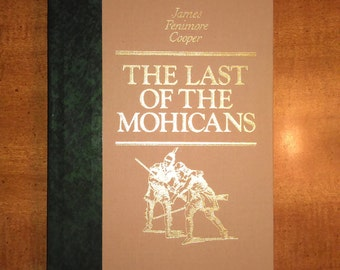 1984 James Fenimore Cooper The Last of the Mohicans Vintage Book