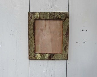 Barnwood Picture Frame With Original Paint