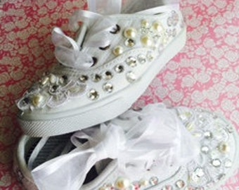 bride sneakerswedding sneakers bridal sneakers