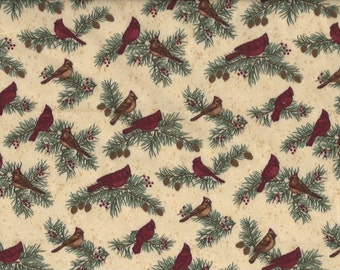 Cardinal Reflection Flannel, Moda Fabrics,velvety soft texture!