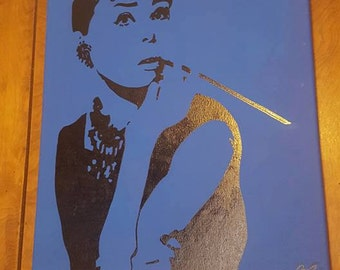 Breakfast at Tiffanys Painting.