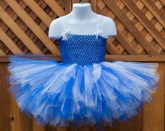 Blue and White Tutu Dress/Dodgers Tutu Dress