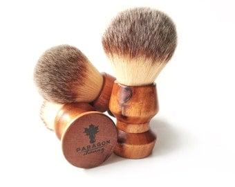 """Shaving Brush - """"Plisson type"""" Synthetic Fibre 28mm"""