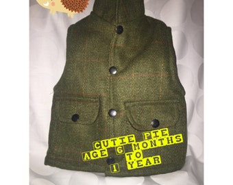 Toddlers Cutist waistcoat! Free Delivery in UK!