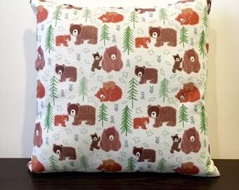 Bear and Cub Pillow