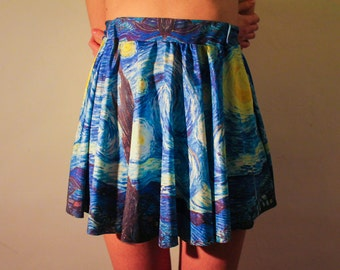 Skirt Van Gogh Starry Night