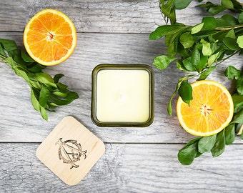 Natural Soy Candle, Neroli and Sweet Orange Candle