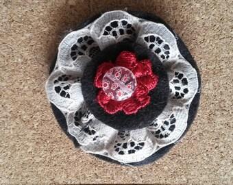 Little Textile Brooch