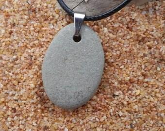 Beach Stone Jewelry|Beach Jewelry|Beach Necklace|Beach Rock Jewelry|Beach Stone Pendant|Beach Pebble Necklace|Pendant Beach Stone Necklace