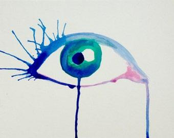 Ink Bleed Eye