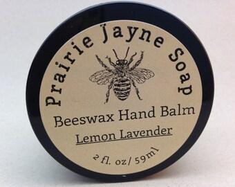 Lemon Lavender Beeswax Hand Balm