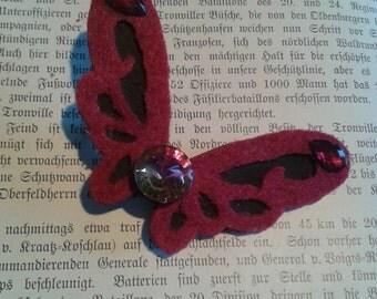 Barrette fairy wings
