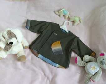 Jacket baby boy doubled with its small pocket size 12 months