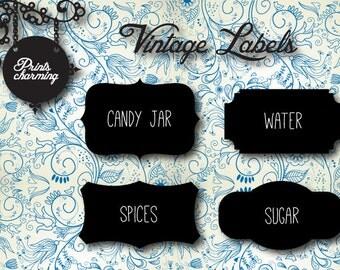 Vintage Labels (printable)