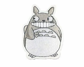 My Neighbor Totoro patch embroidered patch iron on patch cartoon patch sew on patch iron on patches