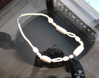 Vintage Necklace from a Bone