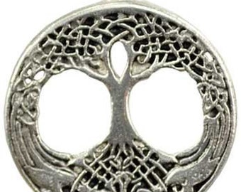 Tree Of Life As Above So Below Amulet