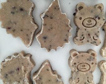"Bakers Dozen ""Omega Snack""- ""Mr. Bear and Mrs. Hedge Hog"""