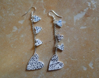 lovely pair of romantic earrings