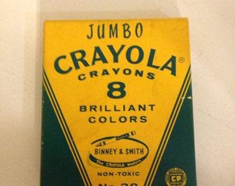 Vintage Crayola Crayons jumbo (8)