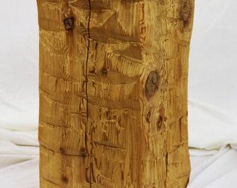 Timber Block Plant Stand/ Timber Pedestal